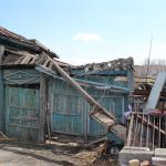 Грозовой фронт прошел через село большое Баландино